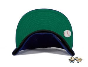Hat Club Exclusive Brooklyn Dodgers 1912 Royal 59Fifty Fitted Hat by MLB x New Era under visor