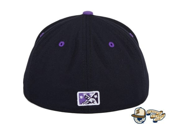 Hat Club Exclusive Mighty Mussels 59Fifty Fitted Hat by MiLB x New Era back