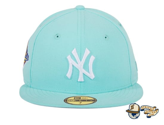 Hat Club Exclusive New York Yankees World Series Patch 59Fifty Fitted Hat by MLB x New Era mint