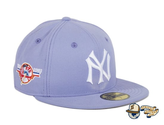 Hat Club Exclusive New York Yankees World Series Patch 59Fifty Fitted Hat by MLB x New Era patch side
