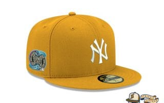 Hat Club Exclusive Patch Grey UV 59Fifty Fitted Hat Collection by MLB x New Era yankees