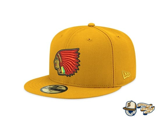 Hat Club Exclusive Patch Grey UV 59Fifty Fitted Hat Collection by MLB x New Era left