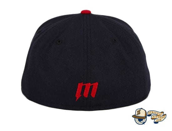 Hat Club Exclusive Sean McCarthy Bald Eagle Navy Red 59Fifty Fitted Hat by Sean McCarthy x New Era back
