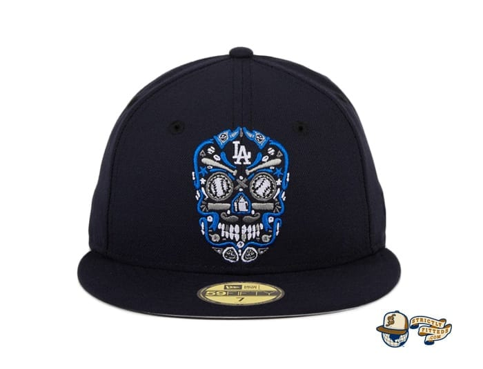Hat Club Exclusive Sugar Skull 59Fifty Fitted Hat Collection by MLB x New Era