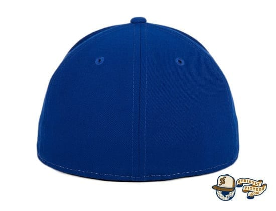 Hat Club Exclusive Toronto Blue Jays 1979 Rail White Royal 59Fifty Fitted Hat by MLB x New Era back