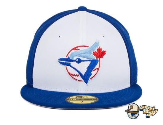 Hat Club Exclusive Toronto Blue Jays 1979 Rail White Royal 59Fifty Fitted Hat by MLB x New Era