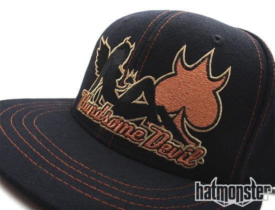Handsome Devil Baseball Cap at Hat Monster girl