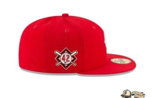 Jackie Robinson Day 2020 59Fifty Fitted Cap Collection by MLB x New Era patch