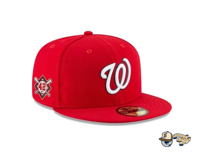 Jackie Robinson Day 2020 59Fifty Fitted Cap Collection by MLB x New Era patch side