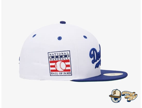 Jackie Robinson LA Dodgers 59Fifty Fitted Cap by MLB x New Era patch side
