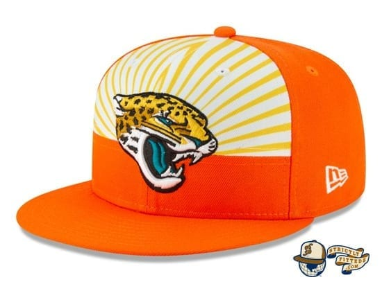 Jacksonville Jaguars 2019 NFL Draft Spotlight 59Fifty Fitted Cap by New Era flag side