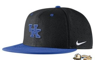 Kentucky Wildcats Aerobill Performance True Fitted Hat by Nike check side