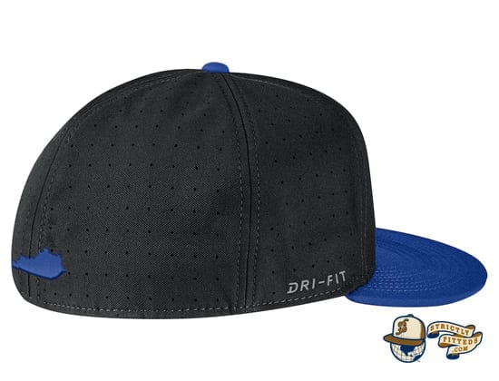 Kentucky Wildcats Aerobill Performance True Fitted Hat by Nike dri-fit right