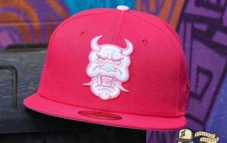 Limited Time Preorder Cherry Blossom Oni & Wendigo 59Fifty Fitted Hat by Dionic x New Era