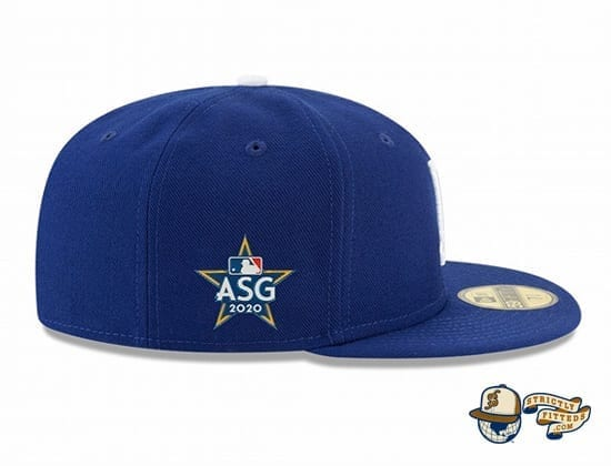 Los Angeles Dodgers 2020 MLB All Star Game On-Field 59Fifty Fitted Cap by MLB x New Era patch side