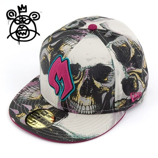 Fitted Caps at MISHKA Screaming Skull