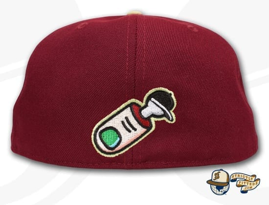 Mark It Zero 59Fifty Fitted Cap by Over Your Head x New Era back