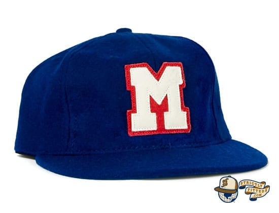 Memphis Red Sox 1944 Vintage Fitted Ballcap by Ebbets profile