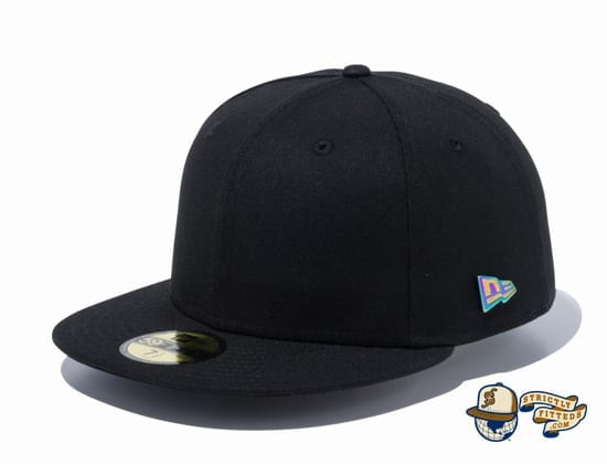 Metal Flag Logo 59Fifty Fitted Cap by New Era flag side