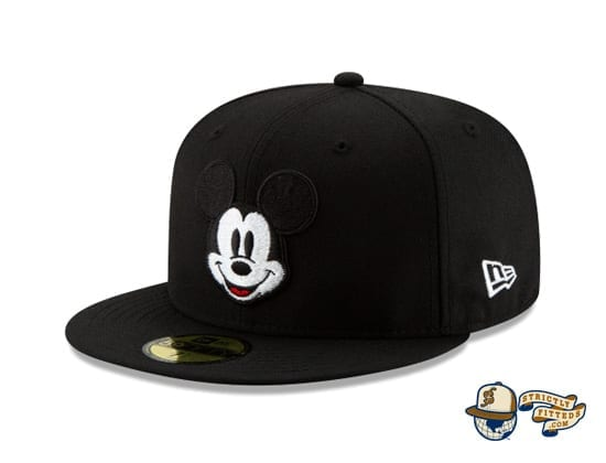 Mickey Mouse Face 59Fifty Fitted Cap by Disney x New Era flag side