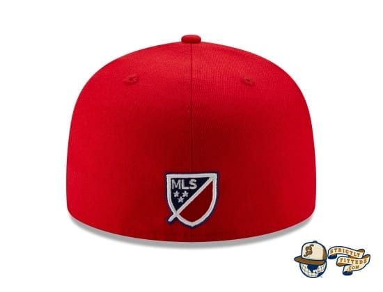 MLS Fade 59Fifty Fitted Cap Collection by MLS x New Era back