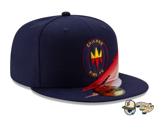 MLS Fade 59Fifty Fitted Cap Collection by MLS x New Era right profile
