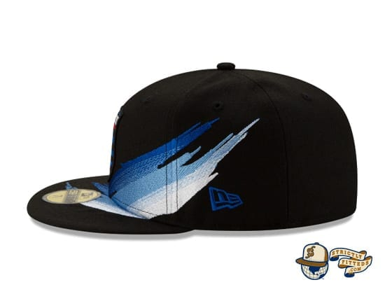 MLS Fade 59Fifty Fitted Cap Collection by MLS x New Era flag side