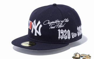New Era 1920-2020 New York Yankees 59Fifty Fitted Cap by MLB x New Era left side