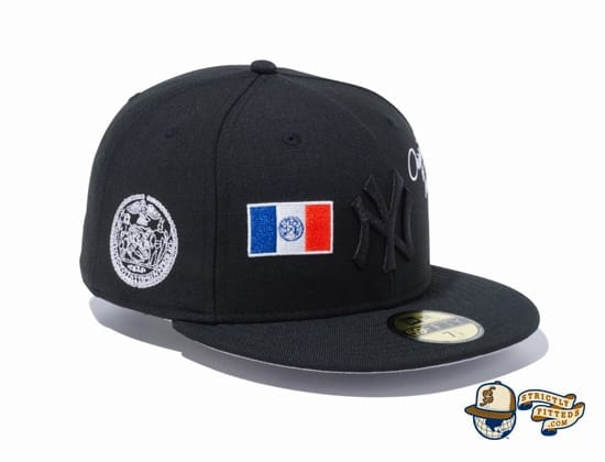 New Era 1920-2020 New York Yankees 59Fifty Fitted Cap by MLB x New Era patch side
