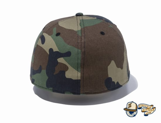New Era 2020 Camo 59Fifty Fitted Cap by New Era back