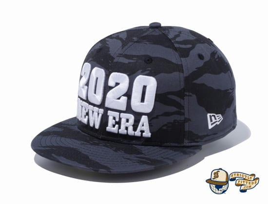 New Era 2020 Camo 59Fifty Fitted Cap by New Era flag side