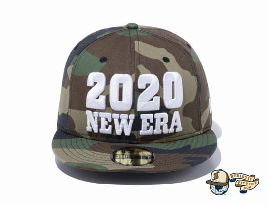 New Era 2020 Camo 59Fifty Fitted Cap by New Era