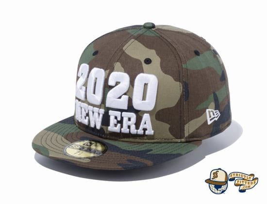 New Era 2020 Camo 59Fifty Fitted Cap by New Era left side