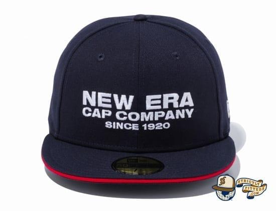 New Era Cap Company 1920 Sandwich Visor 59Fifty Fitted Cap by New Era navy