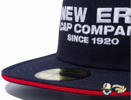 New Era Cap Company 1920 Sandwich Visor 59Fifty Fitted Cap by New Era details
