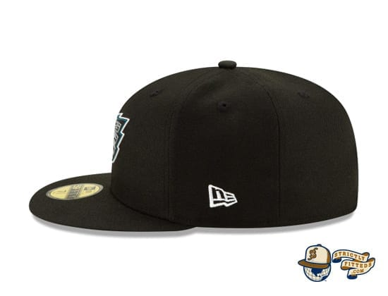 Official NFL Draft 59Fifty Fitted Cap Collection by NFL x New Era left side