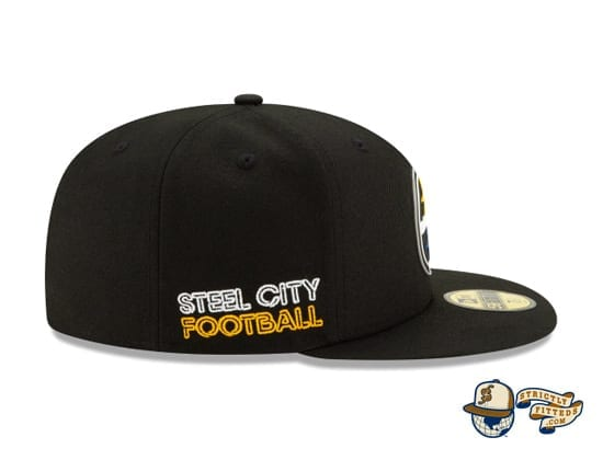 Official NFL Draft 59Fifty Fitted Cap Collection by NFL x New Era right side