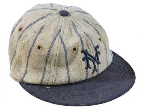 Roger Bresnahan's 1928 New York Giants Fitted Baseball Cap