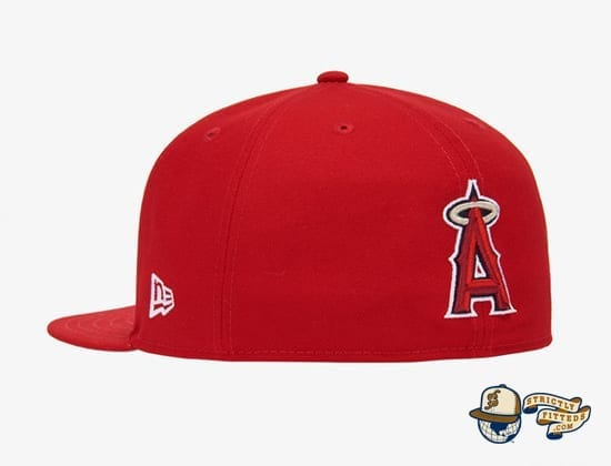 Reverse Logo 59Fifty Fitted Cap Collection by MLB x New Era back angels