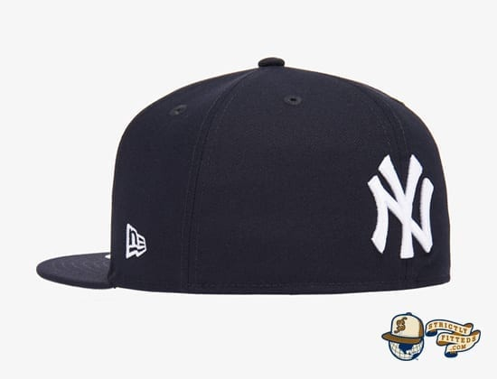 Reverse Logo 59Fifty Fitted Cap Collection by MLB x New Era side back
