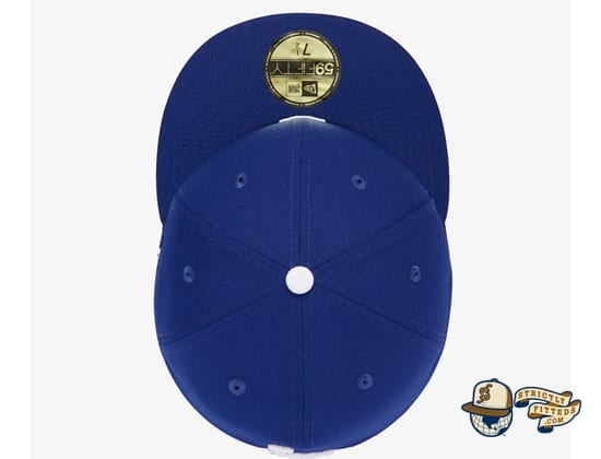 Reverse Logo 59Fifty Fitted Cap Collection by MLB x New Era top