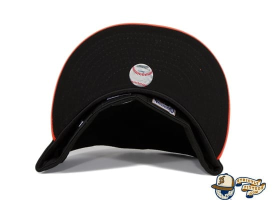 San Francisco Giants 2010 World Series Patch Black Orange 59Fifty Fitted Hat by MLB x New Era undervisor