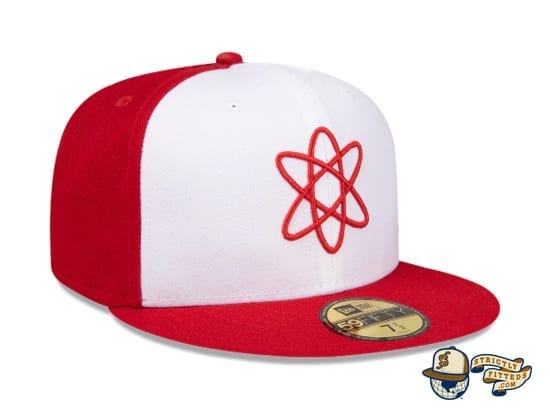 Springfield Isotopes Atom 59Fifty Fitted Cap by The Simpsons x New Era right profile