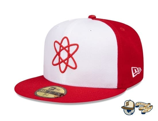 Springfield Isotopes Atom 59Fifty Fitted Cap by The Simpsons x New Era flag side