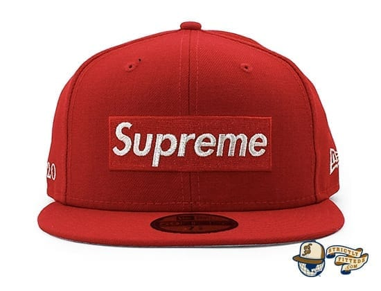 Supreme $1M Metallic Box Logo 59Fifty Fitted Cap by Supreme x New Era