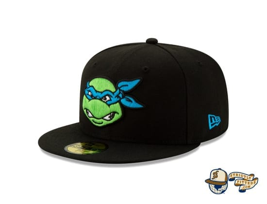 Teenage Mutant Ninja Turtles 59Fifty Fitted Cap by TMNT x New Era flag side