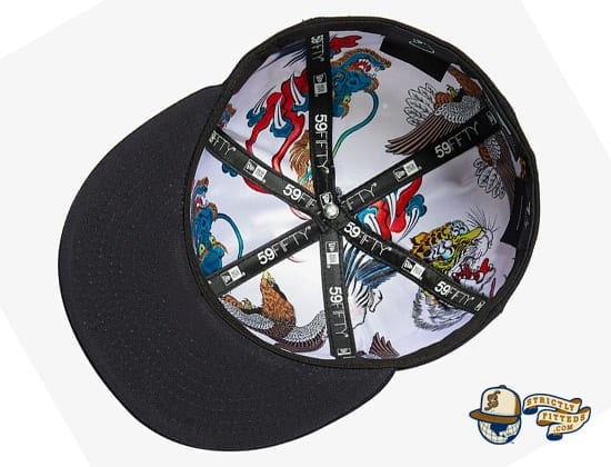 Tsubame Black 59Fifty Fitted Cap by Masumi Ishikawa x New Era inside