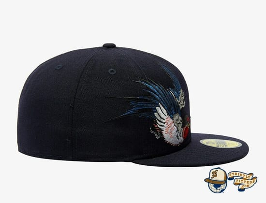 Tsubame Black 59Fifty Fitted Cap by Masumi Ishikawa x New Era right side