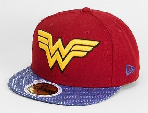 Wonder Woman Power 59fifty Fitted Baseball Cap DC Comics x New Era