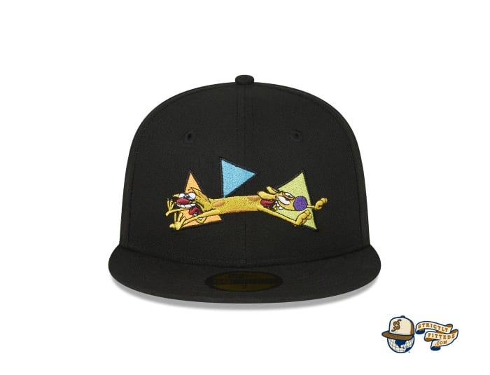 CatDog Black 59Fifty Fitted Cap by Nickelodeon x New Era